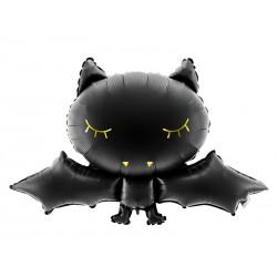 Folie ballon Vleermuis met een afmeting van 80 x 52 cm