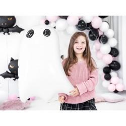 Folie ballon Ghost met een afmeting van 48 x 68 cm