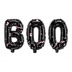 Folie ballon Boo met een afmeting van 65 x 35 cm