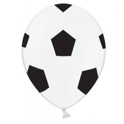 Ballonnen Voetbal zwart met wit