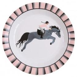 Horse Lovers Design kartonnen bordjes