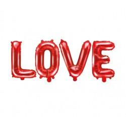 Folie ballonnen set 4-delig Love