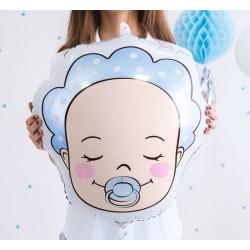 Aandoenlijke baby boy folie ballon