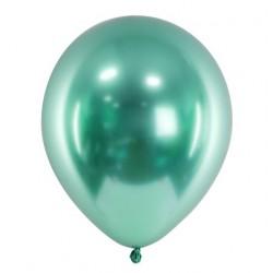 Ballon glossy groen met een doorsnede van 30 cm