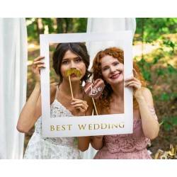 Best Wedding Selfie photo frame kit