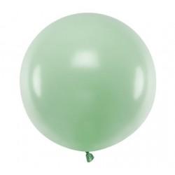 Ronde ballon met een doorsnede van 60 cm pastel pistachio