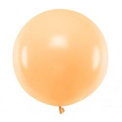 Ronde ballon met een doorsnede van 60 cm pastel licht zalm