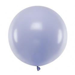 Ronde ballon met een doorsnede van 60 cm pastel licht lila