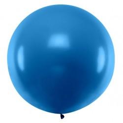 Ronde ballon met een doorsnede van 1 meter pastel navy blue