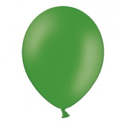 Ballonnen klein, 12 cm extra sterk voor helium of lucht per 10, 20, 50 of 100 stuks pastel emerald green