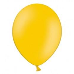Ballonnen klein, 12 cm extra sterk voor helium of lucht per 10, 20, 50 of 100 stuks pastel helder oranje