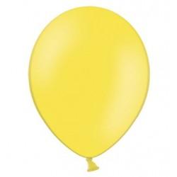 Ballonnen klein, 12 cm extra sterk voor helium of lucht per 10, 20, 50 of 100 stuks pastel citroen geel