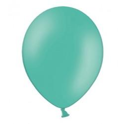 Ballonnen 23 cm pastel aqua marine blauw extra sterk voor helium of lucht per 10, 20, 50 of 100 stuks