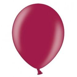 Ballonnen 23 cm maroon metallic extra sterk voor helium of lucht per 10, 20, 50 of 100 stuks