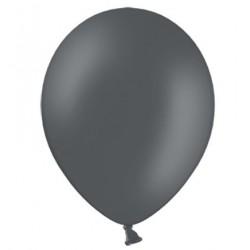 Ballonnen 23 cm pastel grijs extra sterk voor helium of lucht per 10, 20, 50 of 100 stuks