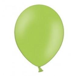 Ballonnen 23 cm pastel helder groen extra sterk voor helium of lucht per 10, 20, 50 of 100 stuks
