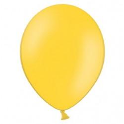 Ballonnen 23 cm pastel honing geel extra sterk voor helium of lucht per 10, 20, 50 of 100 stuks