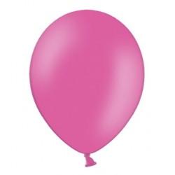 Ballonnen 23 cm pastel hot pink extra sterk voor helium of lucht per 10, 20, 50 of 100 stuks