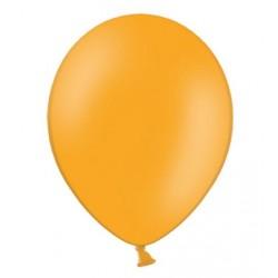 Ballonnen 23 cm pastel mandarin orange extra sterk voor helium of lucht per 10, 20, 50 of 100 stuks