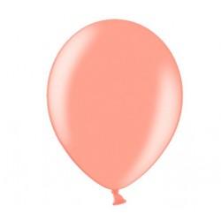 Ballonnen 23 cm rosé goud metallic extra sterk voor helium of lucht per 10, 20, 50 of 100 stuks