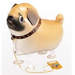 Ballon in de vorm van een pug
