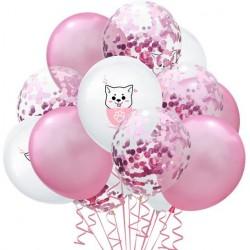Little dog ballon 15 delige mix