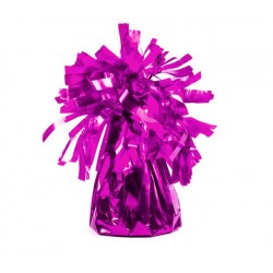 Ballongewicht in de vorm van een paarse bonbon