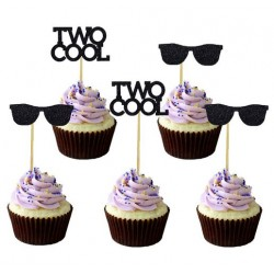 12 cupcake prikkers Two Cool