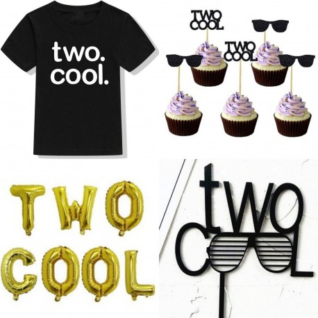 Kleding en decoratie set Two Cool 21-delig