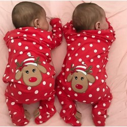 Grappige Kerst outfit voor de baby