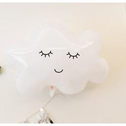Folie Ballon Cloud wit