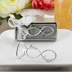 Flesopener Infinity Eternity Design in geschenkdoosje