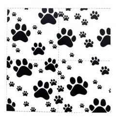 Pak met 20 honden servetten zwart wit