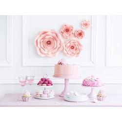 Bloemen decoratie set roze