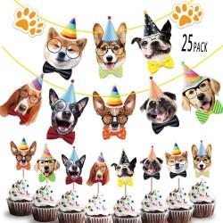 Happy Birthday Dog set 25 delig