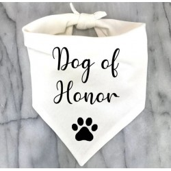 Honden bandana Dog of Honour