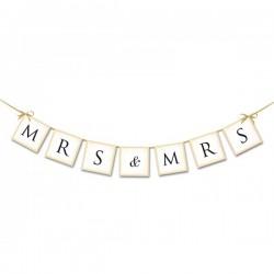 Mr and Mr en Mrs and Mrs letterslinger