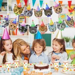 Banner Birthday Cats XL