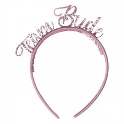 Diadeem Team Bride roze