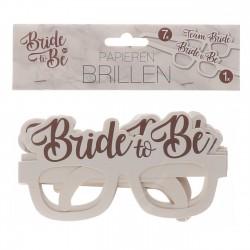 Bride to Be en Team Bride brillen