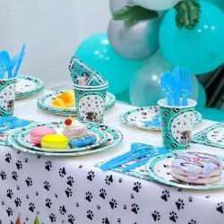 Honden party servetten met diverse honden rassen