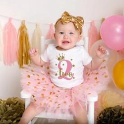 2-delig setje Princess voor een 2e verjaardag