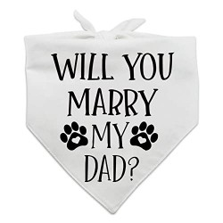Honden bandana Will You Marry my Dad