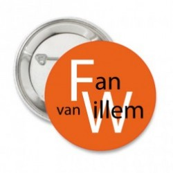 Button Fan van Willem