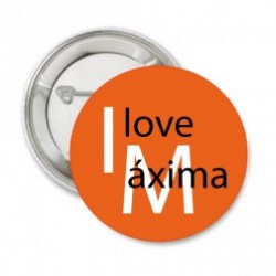 Button I love Maxima