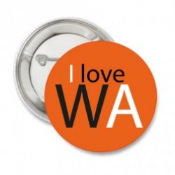 Button I love WA