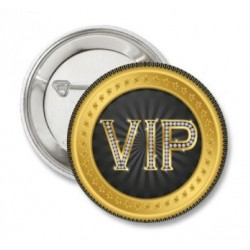 Button VIP rond