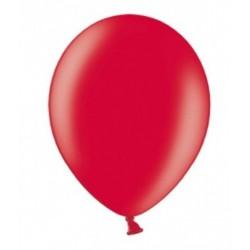 Ballonnen extra sterk 10 stuks Metallic rood