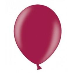 10 Ballonnen extra sterk Metallic bordeaux rood