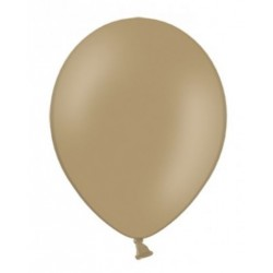 10 Ballonnen extra sterk Metallic cappucino